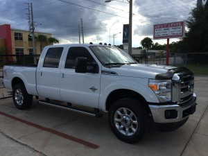 2016 F-250 Tinted Windows