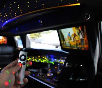 apple tv in limo