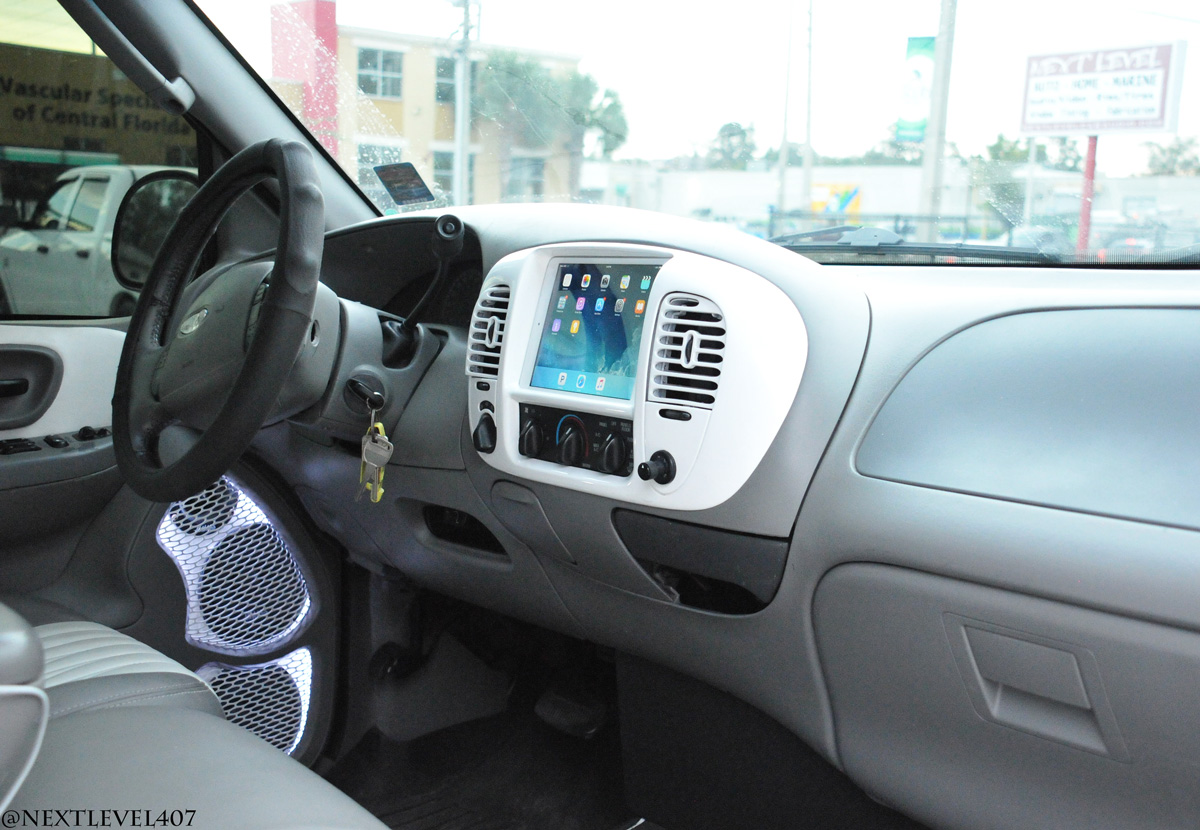Offroad Ipad Mini Dash 2003 Chevy Silverado Without Custom Made Vehicle