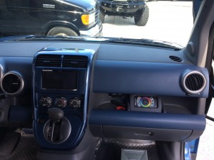 Pioneer 8100 NEX head unit and Rigid RGB controller installed a Honda Element mobile DJ vehicle.