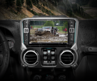 Alpine jeep wrangler touch screen weatherproof
