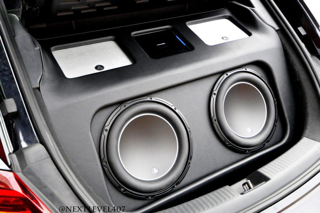 Custom Subwoofer Box JL Audio Volkswagen Beetle